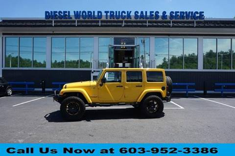 2015 Jeep Wrangler Unlimited for sale in Plaistow, NH
