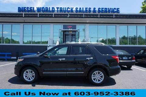 2014 Ford Explorer for sale at Diesel World Truck Sales in Plaistow NH
