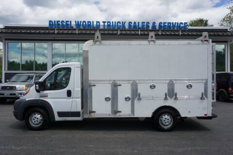 2015 RAM ProMaster Cab Chassis for sale at Diesel World Truck Sales - Dump Truck in Plaistow NH
