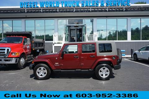 2008 Jeep Wrangler Unlimited for sale in Plaistow, NH