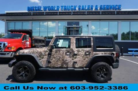 2016 Jeep Wrangler Unlimited for sale in Plaistow, NH