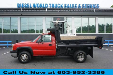 2004 Chevrolet Silverado 3500 for sale at Diesel World Truck Sales in Plaistow NH