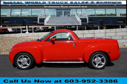 2004 Chevrolet SSR for sale in Plaistow, NH