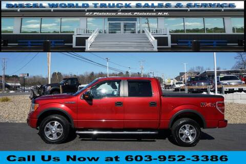 2010 Ford F-150 for sale at Diesel World Truck Sales in Plaistow NH