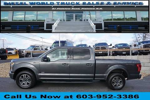 2016 Ford F-150 for sale at Diesel World Truck Sales in Plaistow NH