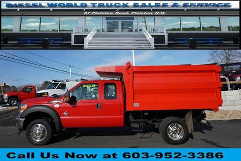 2014 Ford F-550 Super Duty for sale at Diesel World Truck Sales - Dump Truck in Plaistow NH
