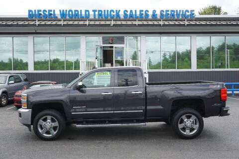 2015 Chevrolet Silverado 2500HD for sale at Diesel World Truck Sales in Plaistow NH