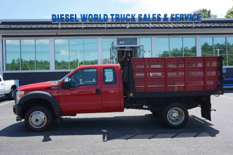 2011 Ford F-550 Super Duty for sale at Diesel World Truck Sales in Plaistow NH