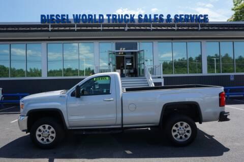 2015 GMC Sierra 2500HD for sale at Diesel World Truck Sales in Plaistow NH