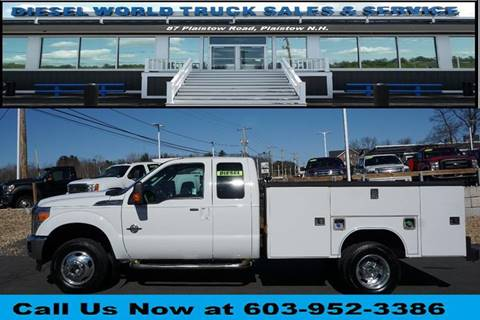 2012 Ford F-350 Super Duty for sale at Diesel World Truck Sales in Plaistow NH