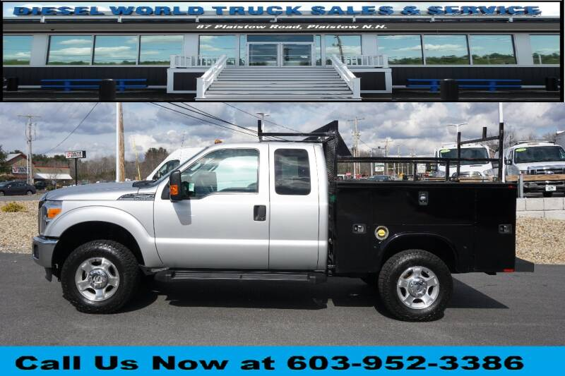 2015 Ford F-250 Super Duty for sale at Diesel World Truck Sales in Plaistow NH
