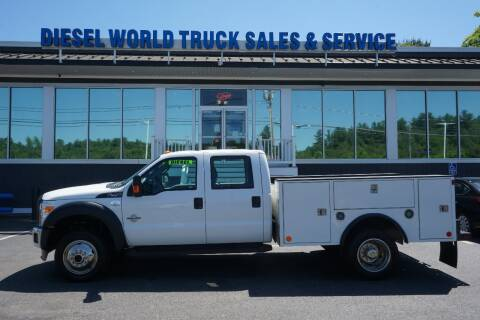 2015 Ford F-450 Super Duty for sale at Diesel World Truck Sales in Plaistow NH