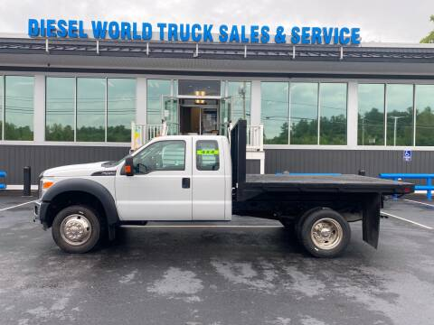 2012 Ford F-450 Super Duty for sale at Diesel World Truck Sales in Plaistow NH