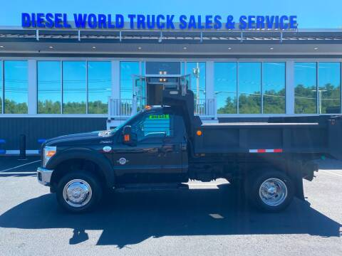 2014 Ford F-550 Super Duty for sale at Diesel World Truck Sales in Plaistow NH