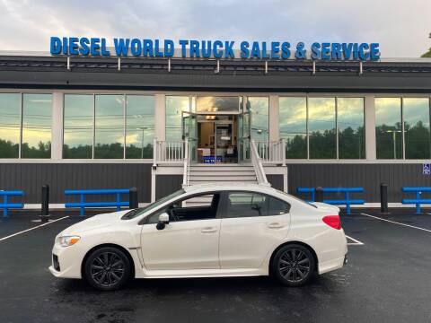 2017 Subaru WRX for sale at Diesel World Truck Sales in Plaistow NH
