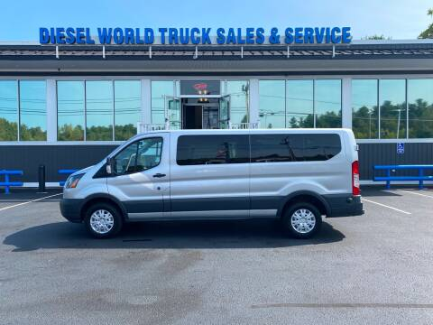 2016 Ford Transit Passenger for sale at Diesel World Truck Sales in Plaistow NH