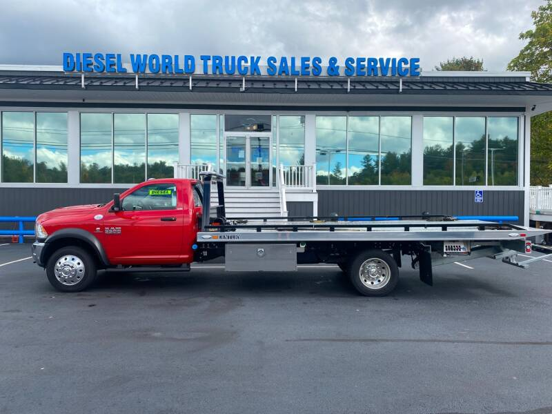 2018 RAM Ram Chassis 5500 for sale at Diesel World Truck Sales in Plaistow NH