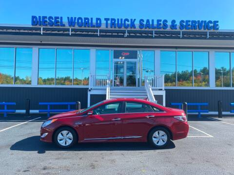 2015 Hyundai Sonata Hybrid for sale at Diesel World Truck Sales in Plaistow NH