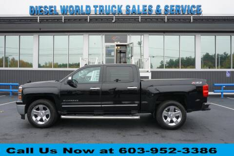 2014 Chevrolet Silverado 1500 for sale at Diesel World Truck Sales in Plaistow NH