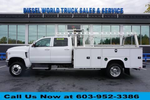 2019 Chevrolet SILVERADO MEDIUM DUT for sale at Diesel World Truck Sales in Plaistow NH