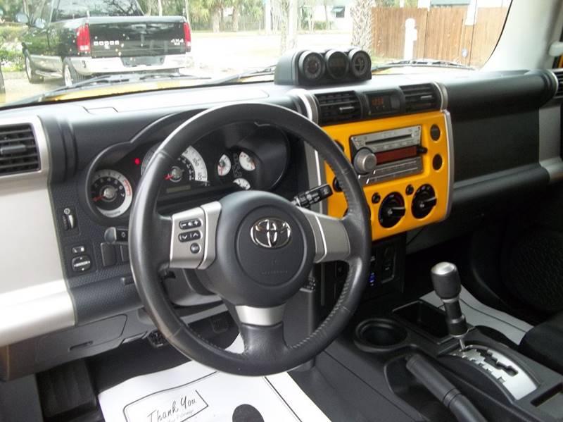 2008 Toyota FJ Cruiser 4x2 4dr SUV - Jacksonville FL