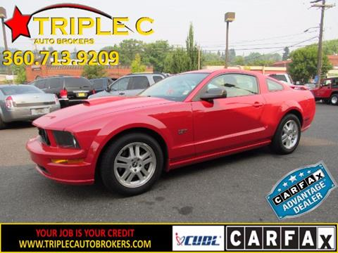 2007 Ford Mustang for sale in Camas, WA