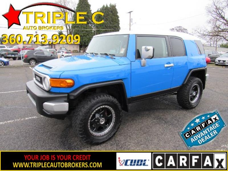 2007 Toyota FJ Cruiser  for sale VIN: JTEBU11FX70017139