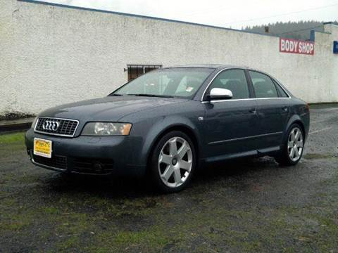 2005 Audi S4 for sale at Triple C Auto Brokers in Washougal WA
