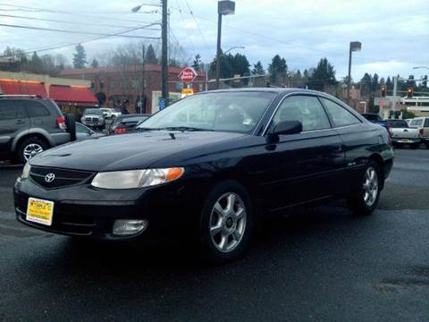 2000 Toyota Camry Solara for sale at Triple C Auto Brokers in Washougal WA