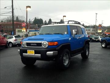 2007 Toyota FJ Cruiser for sale at Triple C Auto Brokers in Washougal WA