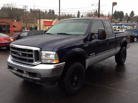 2003 Ford F-250 Super Duty for sale at Triple C Auto Brokers in Washougal WA
