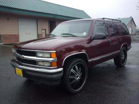 1999 Chevrolet Tahoe for sale at Triple C Auto Brokers in Washougal WA
