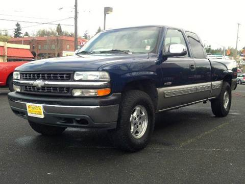 1999 Chevrolet Silverado 1500 for sale at Triple C Auto Brokers in Washougal WA