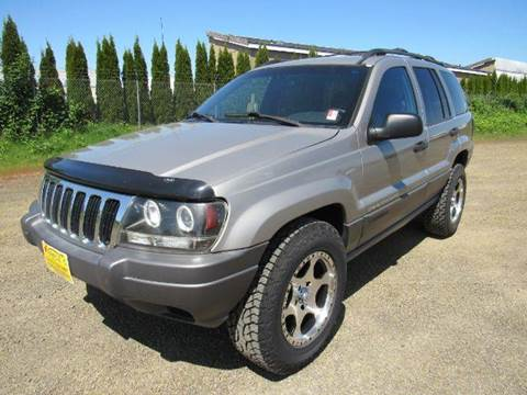 2001 Jeep Grand Cherokee for sale at Triple C Auto Brokers in Washougal WA