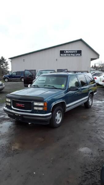 1995 GMC Yukon SLE 4-Door 2WD