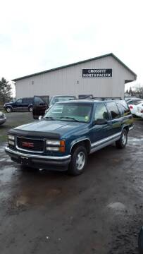 1995 GMC Yukon for sale at Triple C Auto Brokers in Washougal WA
