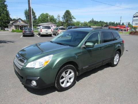 2013 Subaru Outback for sale at Triple C Auto Brokers in Washougal WA