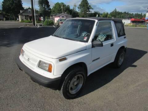 1996 Suzuki Sidekick for sale at Triple C Auto Brokers in Washougal WA