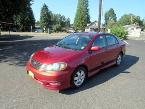 2005 Toyota Corolla for sale at Triple C Auto Brokers in Washougal WA