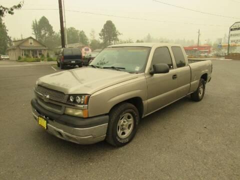 2003 Chevrolet Silverado 1500 for sale at Triple C Auto Brokers in Washougal WA