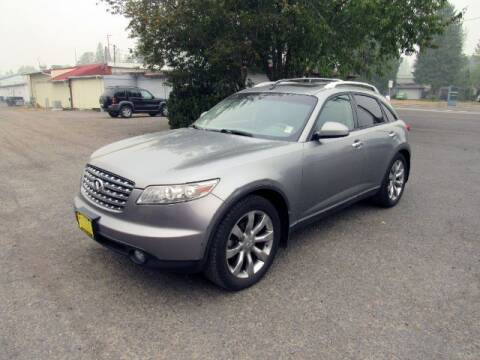 2004 Infiniti FX45 for sale at Triple C Auto Brokers in Washougal WA