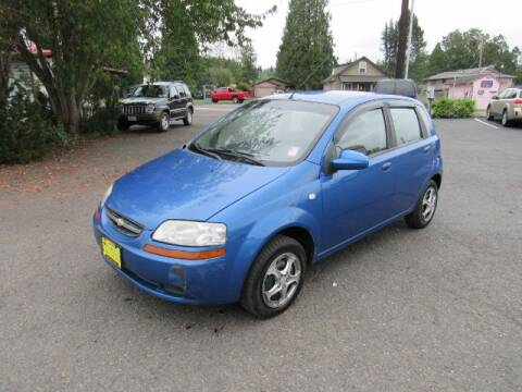 2006 Chevrolet Aveo for sale at Triple C Auto Brokers in Washougal WA