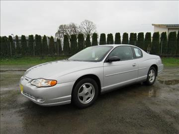 2004 Chevrolet Monte Carlo for sale at Triple C Auto Brokers in Washougal WA