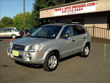 2007 Hyundai Tucson for sale at Triple C Auto Brokers in Washougal WA