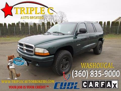 1999 Dodge Durango for sale in Washougal, WA