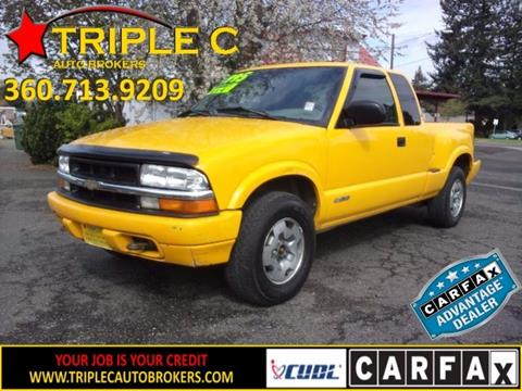 2002 Chevrolet S-10 for sale in Camas, WA