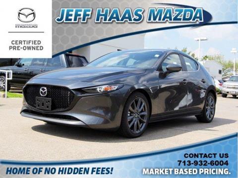2019 Mazda Mazda3 Hatchback for sale in Houston, TX