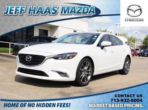 2016 Mazda MAZDA6 for sale in Houston, TX