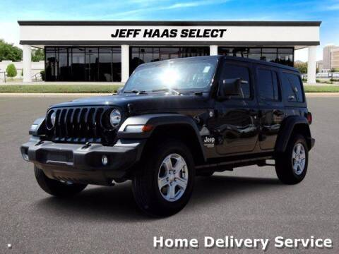 2019 Jeep Wrangler Unlimited for sale at JEFF HAAS MAZDA in Houston TX