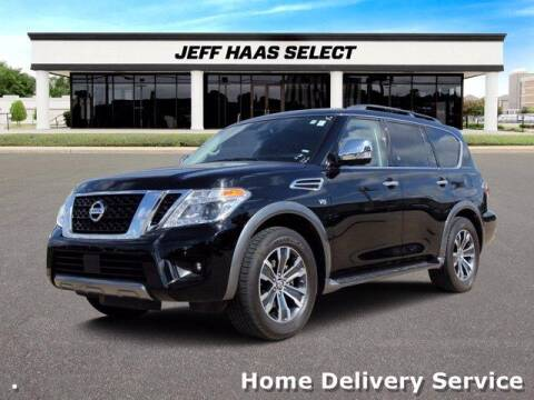 2019 Nissan Armada for sale at JEFF HAAS MAZDA in Houston TX
